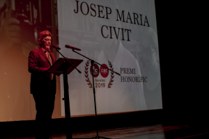 FIC-CAT 2019: Entrega el premi honorífic a Josep Maria Civit.