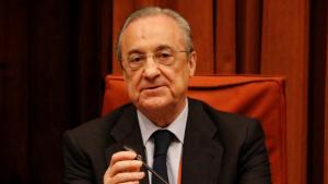 Florentino Pérez s'espolsa la responsabilitat i qualifica de «desgràcia» el projecte Castor al Parlament