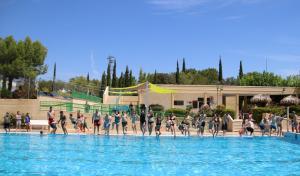 Imatge d'arxiu de la piscina municipal de la Bisbal del Penedès.