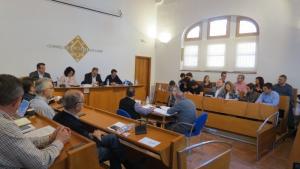 Imatge d'arxiu d'un plenari del Consell Comarcal del Baix Camp