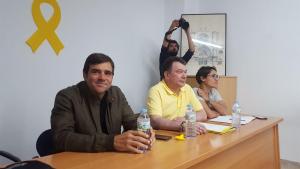 Imatge de l'assemblea de Junts per Tarragona, avui dijous