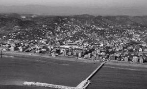 Imatge dels primers anys d'urbanització de Segur.