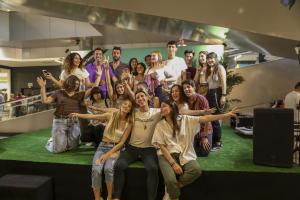 imatges dels Influencers al Parc Central de Tarragona