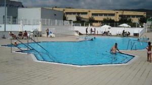La piscina del Club Tennis Vendrell.