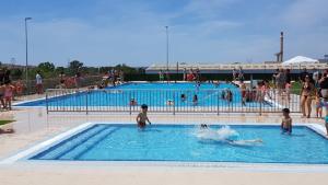 La piscina municipal d'estiu de l'Arboç.