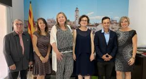 L'equip de govern pel mandat 2019-2023 de la Bisbal del Penedès.