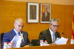 Les millors imatges del ple de constitució de l'Ajuntament de Torredembarra celebrat aquest dissabte, 15 de juny de 2019.