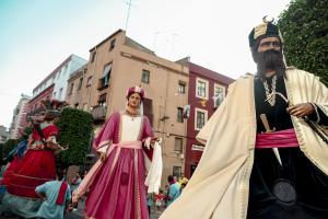 Professo del Corpus amb el previ ball solemne de l'Àliga