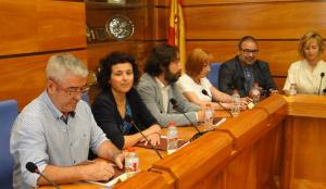 Regidors del PSC al primer ple del nou mandat.