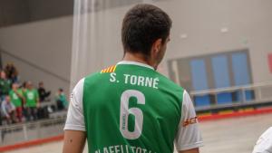 Sergi Torné seguirà defensant el verd del Calafell