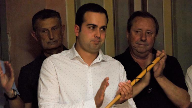 Eloi Calbet (Junts pel Morell), investit nou alcalde del Morell