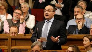 Alejandro Fernández, al Parlament de Catalunya, en una imatge d'arxiu