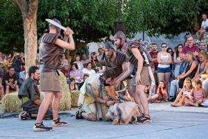 Aquest ball parlat representa el martiri i decapitació de Sant Joan Baptista, patró de Rodonyà