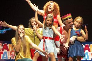 Dàmaris Gelabert al Teatre Victòria de Barcelona