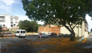 El nou aparcament públic de Calafell, al Clos del Becu.