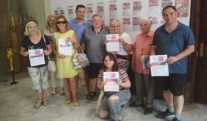 Els guanyadors de la campanya comercial de l'Arboç.