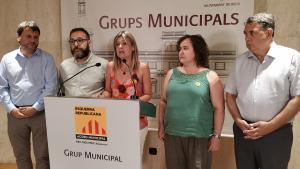 ERC Reus, amb Noemí Llauradó al capdavant, explica com arrenca el mandat