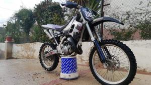 Imatge de la moto robada a Cubelles