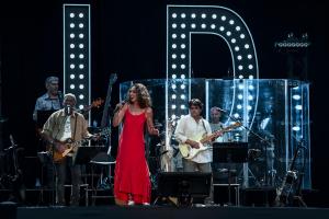 Imatges del concert d'Ana Belén a Reus