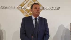 Joaquim Calatayud ha estat reelegit president del Consell Comarcal del Baix Camp
