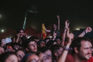La darrera nit de l'Acampada Jove 2019, en imatges