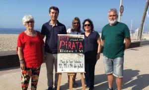 La Festa Pirata torna a la platja de Sant Salvador, al Vendrell.