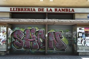 La Llibreria La Rambla va tancar l'any passat.