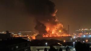 Les flames i el fum s'han pogut veure des de diversos punts del Tarragonès
