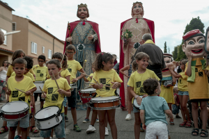 Les imatges de la cercavila de la Festa Major de Figuerola del Camp 2019