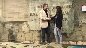 Pau Ricomà i Carla Aguilar van fer públic l'acord de govern municipal de Tarragona el passat 14 de juny.