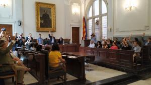 Reus ha celebrat un nou plenari per repetir la investidura de Carles Pellicer