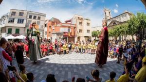 Un dels actes de la Festa Major de Sant Abdó i Sant Senén de Vilallonga del Camp, en una imatge d'arxiu.