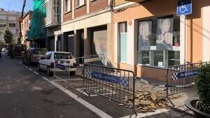 Al carrer del Vapor Vell de Reus s'ha fet un sanejament de façana