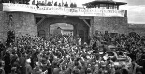 Alliberament del camp de Mauthausen per part les tropes nord-americanes, el 5 de maig del 1945.