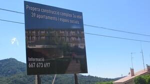 El Complex Residencial Prades estarà situat a la sortida del poble direcció Montblanc - Vilanova de Prades