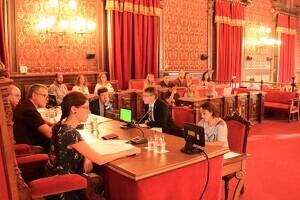 El plenari de l'Ajuntament de Tarragona s'ha celebrat aquest matí de divendres.