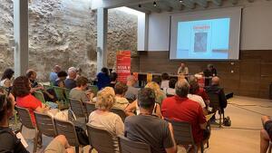 En el marc de la Universitat Nova Història s'ha presentat el llibre 'Les identitats catalanes de Cervantes, cervera o Servent'.