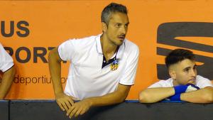 Ferran López donant instruccions als seus jugadors