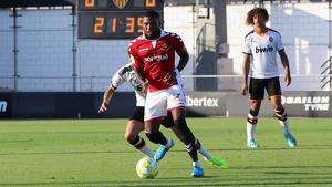 Habran ha disputat el tercer partit com a titular