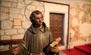 Imatge del patró de l'Arboç, Sant Julià.