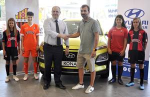 La Fundació Futbol Base de Reus renova l'acord de patrocini amb Hyundai Augusta Car