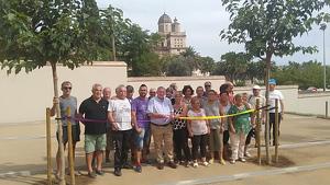 L'Arboç ha inaugurat les noves pistes de petanca durant la Festa Major.