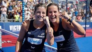Salazar i Sánchez celebren la victòria aconseguida