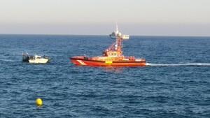 Salvament Marítim ha actuat per salvar una persona que no podia tornar a la seva embarcació