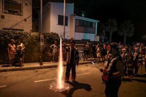 XXXIII Nit de Foc a l'Hospitalet del Infant per la festa major, en imatges!