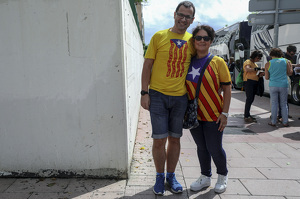 Centenars de busos surten des de Tarragona a la manifestació per la Diada 2019 a Barcelona