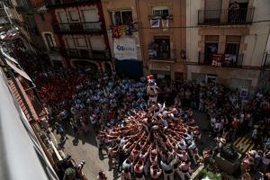 Les imatges de la diada castellera de Santa Rosalia, a Torredembarra