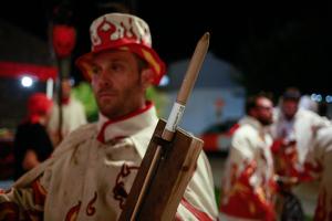 El correfoc de la Festa Major de Creixell, en imatges