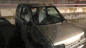 El cotxe que ha recuperat la policia local del Vendrell.