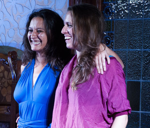 Isabel Vinardell i Isabelle Laudenbach omplen l'Institut Pere Mata pel Vermusic